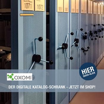 OXOMI der digitale Katalogschrank